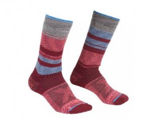 ALL MOUTAIN MID SOCKS WARM W - ORTOVOX - chaussettes
