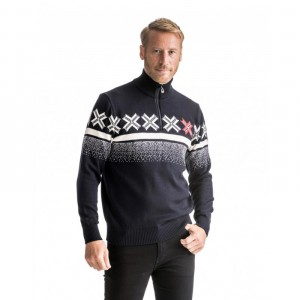 OLYMPIC PASSION MASCULINE - DALE OF NORWAY - SWEATS / PULLOVER