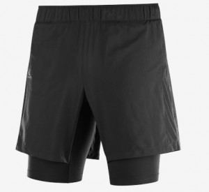 AGILE TWINSKIN SHORT M - SALOMON - Shorts