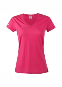 BLOOM WOOL LADY TEE - BERGANS - POLOS-TEE SHIRTS