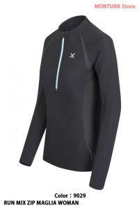 RUN MIX ZIP MAGLIA WOMAN - MONTURA - Polo & T-Shirt