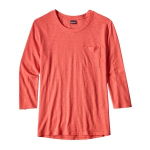 W'S MAINSTAY 3/4 SLEEVED TOP - PATAGONIA - POLOS-TEE SHIRTS