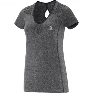 ELEVATE SS SEAMLESS TEE W - SALOMON - HAUTS