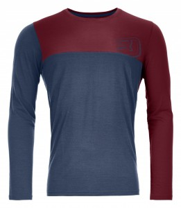 COOL LOGO LONG SLEEVE M - ORTOVOX - POLOS-TEE SHIRTS