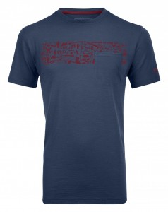 COOL EQUIPEMENT TEE SHIRT M - ORTOVOX - POLOS-TEE SHIRTS
