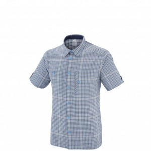 CASTLE PEAK STRETCH SS SHIRT - MILLET - POLOS-TEE SHIRTS