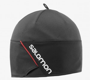 RS BEANIE BLACK - SALOMON - bonnets