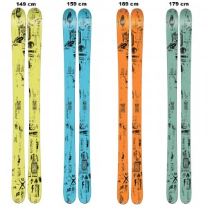 PRESS+FREETEN - K2 - SKIS